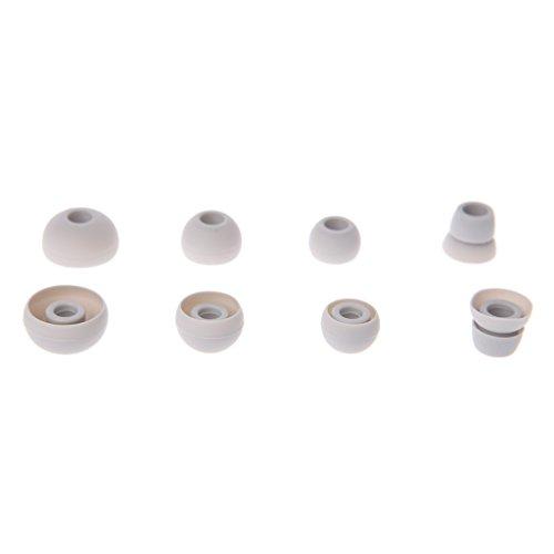 siwetg 4 pares de almohadillas de silicona para orejas de repuesto para auriculares Power 2/3 Wirel PB2 PB3 funda de silicona