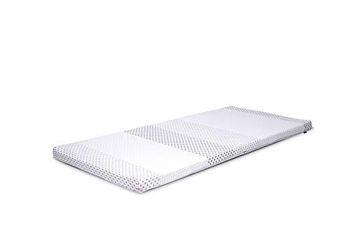 MatraMAXX Latex Matratzen Auflage/Topper 180x200 Tencel Silver Protect | 100% Latex, orthopädisch, für Allergiker geeignet, hervorragende Klimaeigenschaften, Bester Schlafkomfort | Made in Germany
