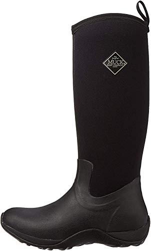 Muck Boots Arctic Adventure, Damen Stiefel, schwarz - Black (Black), 39/40 EU (6 UK)