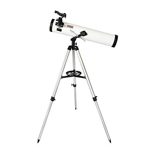 QYH Telescopio Astronómico F30070M Monocular con Trípode para la astronomía