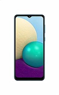 موبايل سامسونج جالاكسي A02 بشريحتين اتصال، شاشة 6.5 بوصة، 32 جيجابايت، 3 جيجابايت رام، شبكة الجيل الرابع ال تي اي - ازرق