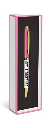Fashion Pen: Get it together – Modischer Kugelschreiber: Krieg's auf die Reihe: Unser praktischer Kugelschreiber in der dekorativen Geschenkverpackung (Kugelschreiber in der Geschenkverpackung)