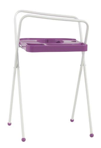 Bébé-Jou Les supports de baignoires 103 cm Uni couleurs rose / blanc