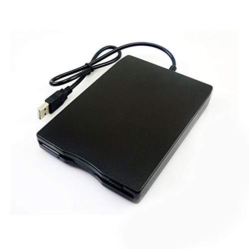 """Tree-on-Life 1,44 MB Diskette 3,5\""""USB Externes Laufwerk Tragbares Diskettenlaufwerk Diskette FDD Für Laptop Desktop PC schwarz"""