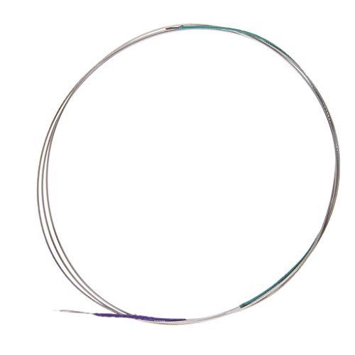 B Baosity Stahlkern String Saiten Ersatzteile für Chinesisches Zupfinstrument Zhonghu Erhu, 10 x 10 x 2 cm - Innere Saite