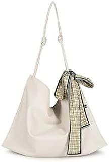 TOOGOO Ladies' Handbag Large Capacity Soft Lady Shoulder Bag Casual Wanderer Large Tote Ms.Bow Tote Green