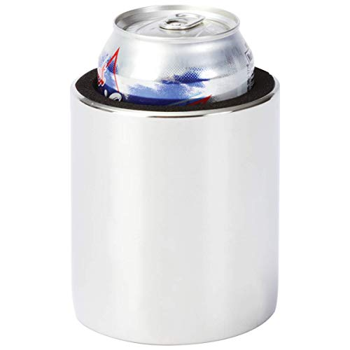Diamond Plate Magnetic Cup Holder for Keeping Your Drink Secure to Most Metal Surfaces, Stainless Steel