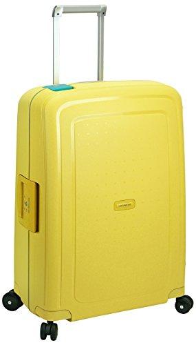 Samsonite Valigia S'Cure Spinner 75/28, 75 cm, 102 litri, Lemon