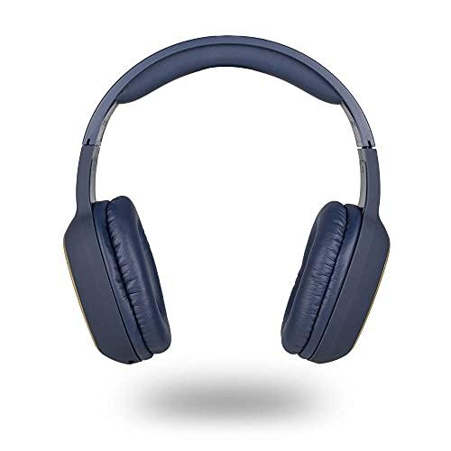 NGS BT Headphone ARTICA Pride Blue- Auriculares Inalámbricos Bluetooth con Micrófono, Batería...