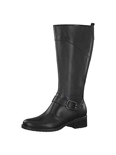 Tamaris Damen 1-1-25553-23 Hohe Stiefel, Schwarz (Black 1), 39 EU