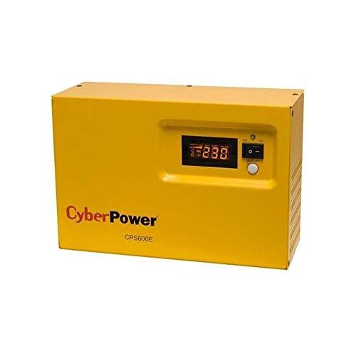 CyberPower Sistema DE ALIMENTACIÓN DE Emergencia CPS600E - 600VA/420W - Panel LCD - Toma SCHUKO - Carcasa Metal - Compatible