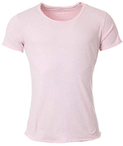 KEY LARGO Herren Bread New Round T-Shirt, Rose (1330), XL