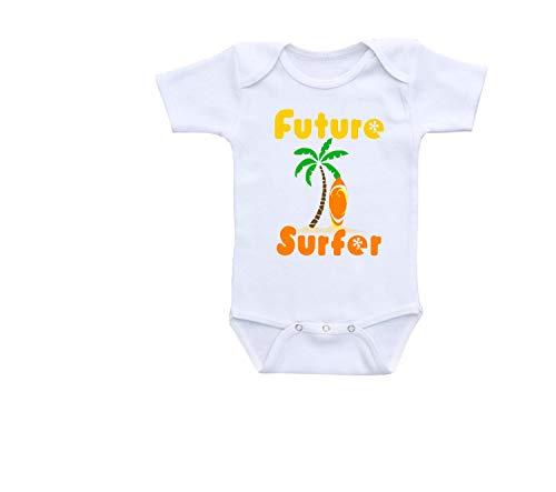 Promini Mono de bebé lindo – Surf – Body de bebé lindo bebé de una pieza el mejor regalo para bebé