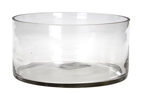 Deko Glas-Schale Rund L