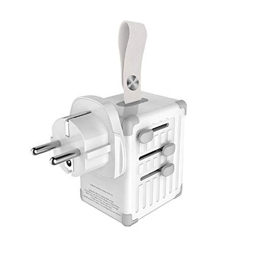 LZC Universal Travel Adapter Zubehör (Multifunktionaler, tragbarer und langlebiger Brandschutz-Ladeadapter) Kann in Laptops, Digitalkameras usw. verwendet Werden.