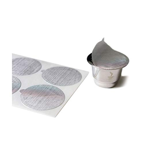 GEFU Ersatz-Aroma-Sticker CONSCIO, 80 Stück – Ergänzung zum Kaffeekapseln-Set CONSCIO - nachhaltig