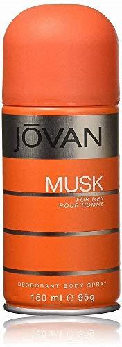 Jovan Musk for men Deo Body Spray, 1er Pack (1 x 0.15 l)