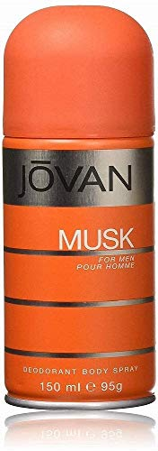 Jovan Musk for men Deo Body Spray, 1er Pack (1 x 0.15 l)