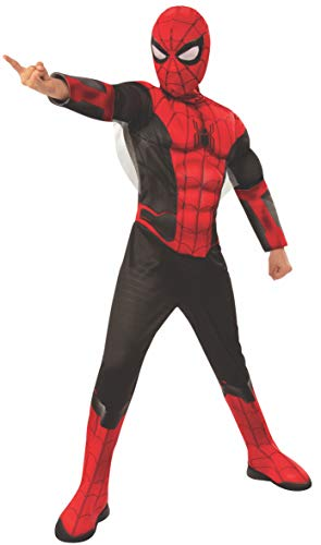 Rubie's- Spiderman Disfraz, Color negro/rojo, Small-3-4 Years, Height 117 cm, Waist 65 cm (700614_S)