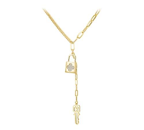 Temperament lange kreative Rollkragenpullover Kette einfache High-End neue Schlüsselbeinkette weibliche Halskette