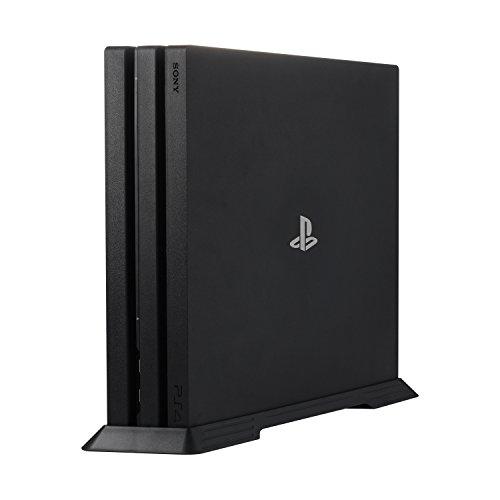 Younik soporte vertical VG-04 PS4 Pro para Playstation 4 Pro con una función de refrigeración respiraderos y antideslizantes pies
