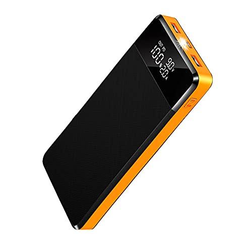 Power Bank,26800mAh Carga Rápida Bateria Externa con 5 Puerto,2 USB con PD18W/QC3.0,Cargador Portátil Móvil Ultra Alta Capacidad con Pantalla LCD,Bancos de energía portátiles para Phone Tableta y Más