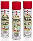 Dermughin - Desinfectante en spray 75% alcohol (500 ml, 3 unidades)