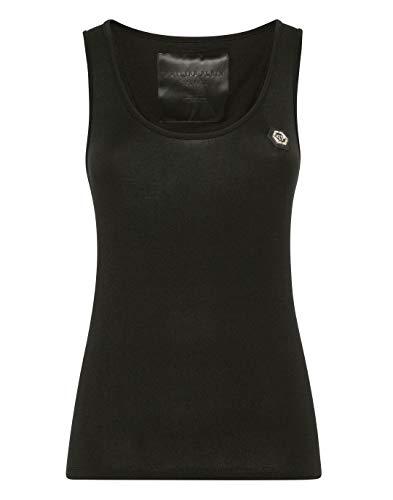 Philipp Plein Mujer Tank Top Original Negro X-Small