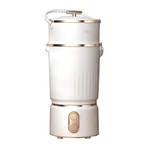 KCCCC Pequeña Lavadora automática de Ropa Interior Calcetines automáticos Lavadora Lavadora Lavadora Simple pequeño Lavado Tambor Mini Lavadora (Color : White, Size : 31x31x57cm)