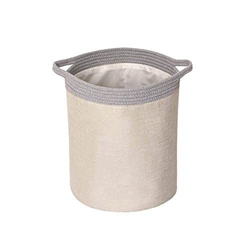 CML Canasta de lavandería Niños Grandes Juguetes Caja de Almacenamiento Dries Plegables Sundries de Almacenamiento Bolsa Baño Baño Ropa Sucia Hardper Organizador (Color : Khaki)