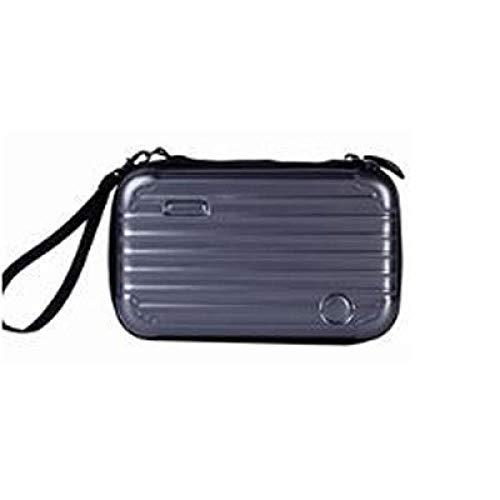 JIANYUXIN Trousse De Toilette Luggage Bag Cosmetic Bag Functional Travel Cosmetic Storage Box Beauty Brush Lipstick Cosmetic Storage Box Dark Gray