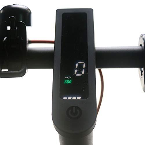 Linghuang Roller Armaturenbrett Panel Abdeckung für Xiaomi M365 / M365 Pro Wasserdicht Silikon Geeignet Elektroroller Zubehör (schwarz)