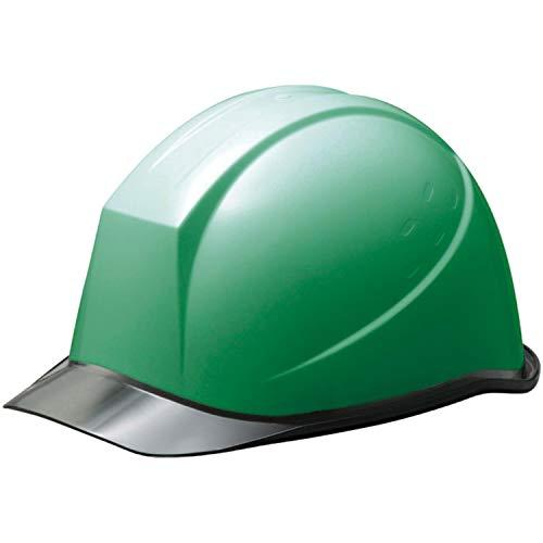 ミドリ安全 ヘルメット 作業用 PC製 クリアバイザー ウインドフロー SC11PCL RA3 UP グリーン/スモーク