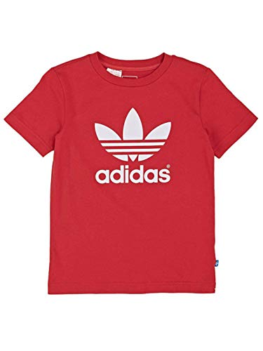 Camiseta Adidas Adi tre. tee Rojo 104 cm(3-4 años) Rojo