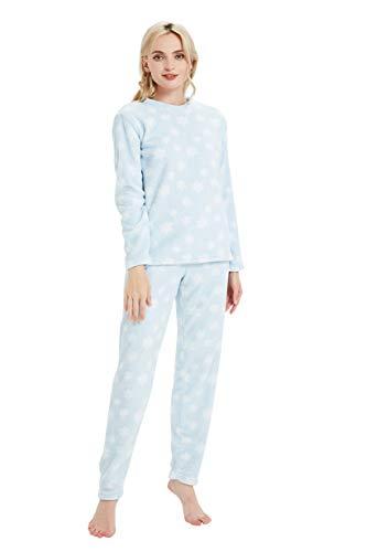 PimpamTex – Pijama Coralina de Mujer Otoño-Invierno de