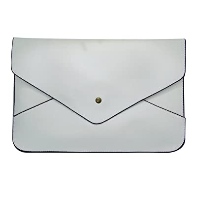 YOUR GALLERY Women PU Leather Envelope Clutch Purse Wallet Shoulder Bag