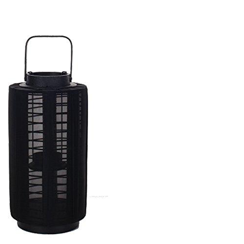 Lifestyle lantaarn Ronja 51 cm zwart