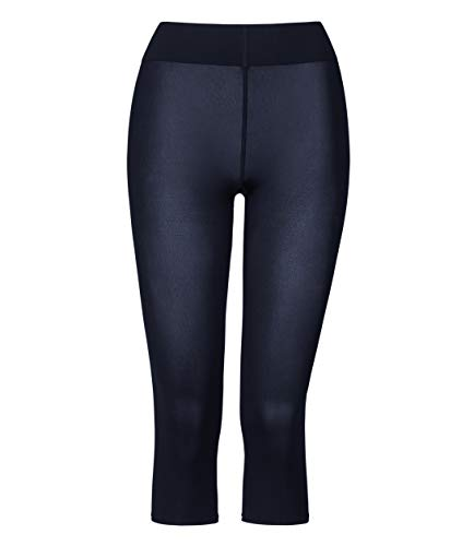 Wolford Damen 14670 Leggings, Frauen Stoffhose,Basic,Capri-Stil,Gymnastikhose,Yogahose,Freizeithose,enganliegend.5280 Admiral,Small (S)