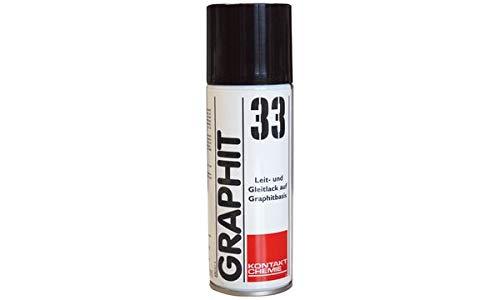 KONTAKT CHEMIE 76009 33 Grafit-Leitlack, 200 ml