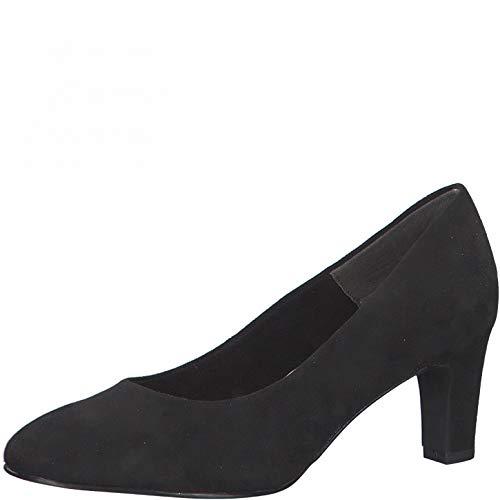 Tamaris Damen Klassische Pumps, Frauen Pumps,Touch It-Fußbett,Absatzschuhe,stöckelschuhe,Women's,Court,Shoes,Abendschuhe,Lady,Black,39 EU / 5.5 UK