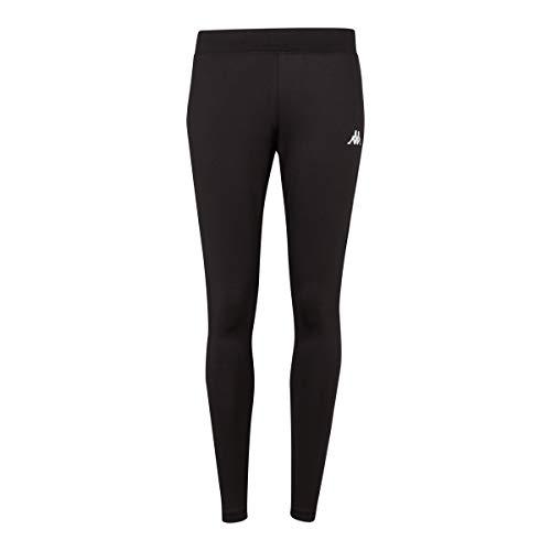 Kappa Livera – Pantaloni da Corsa da Donna, Donna, 304TQF0, Nero, XS