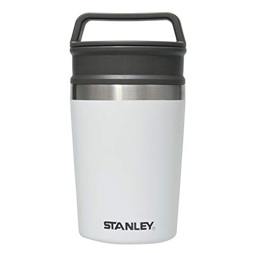 STANLEY(スタンレー)真空マグ0.23Lホワイト保冷保温軽量コンパクトコーヒー保証02887-038(日本正規品)