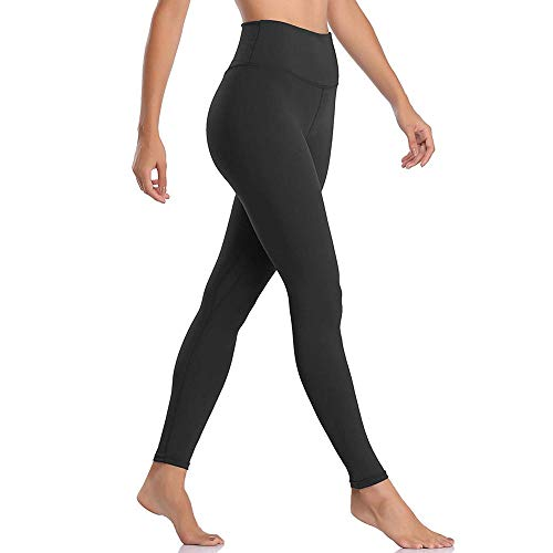 Yoga BH-tops,Legging met hoge taille buikbroek, fitness yoga joggingbroek-black_M, Yoga open rug trainingskleding
