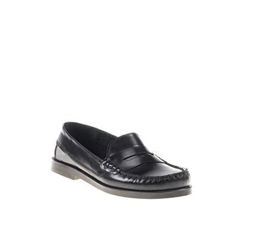 Zapatos Mocasines para niños Unisex. Calzado de niño Fabricado en España - Mi Pequeña Modelo 595I Color Negro.