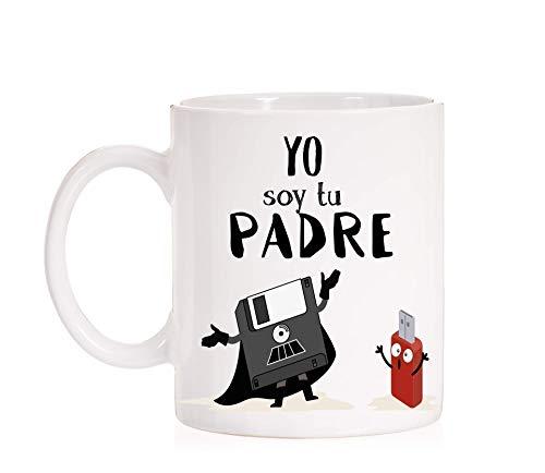 Taza Yo soy tu Padre. Regalo divertido para padres con mucho estilo. Star Wars