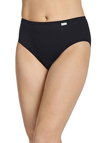 Jockey Women's Underwear Elance Hipster - 3 Pack, Black, 5
