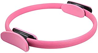 Yoga Pilates Ring Exercise Fitness Circle-Pink