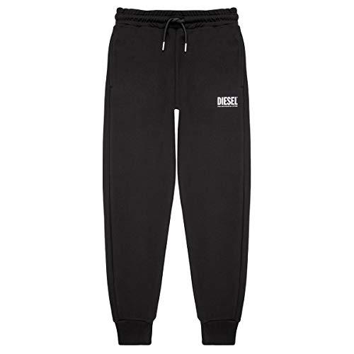 Diesel Ptarylogo Trousers Jogging & Sportbekleidung Jungen Schwarz - 14 Ans (14 Jahre) - Jogginghosen Pants