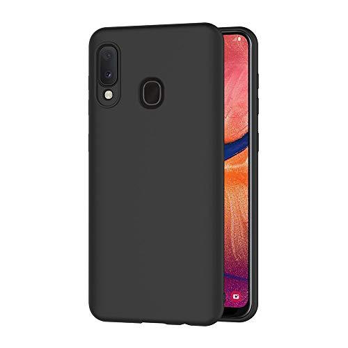 AICEK Cover Compatible Samsung Galaxy A20e Cover Samsung A20e Nero Silicone Case Molle di TPU Sottile Custodia per Galaxy A20e (5.8 Pollici)