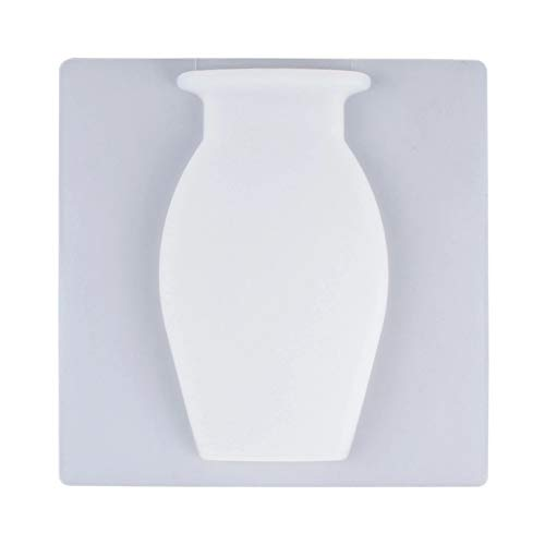 KINHOO Silica Gel Traceless Vase Wall Hanging Refrigerator Sticker, Wall Magic Hydroponic Vase Paste